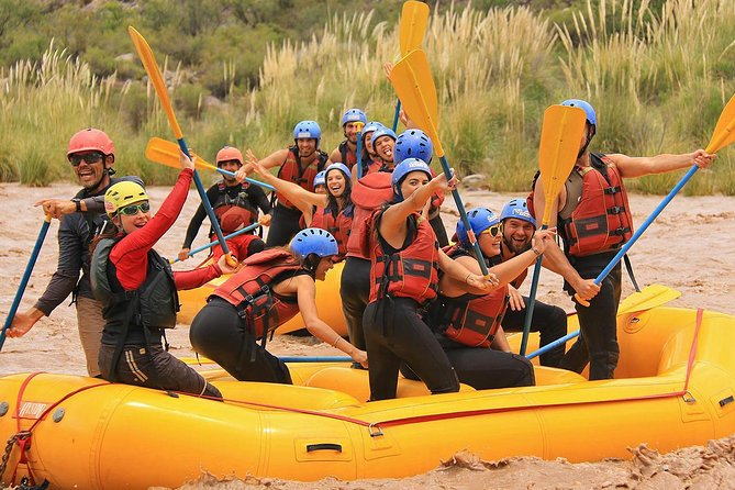 Rafting in Rio Mendoza from Mendoza City