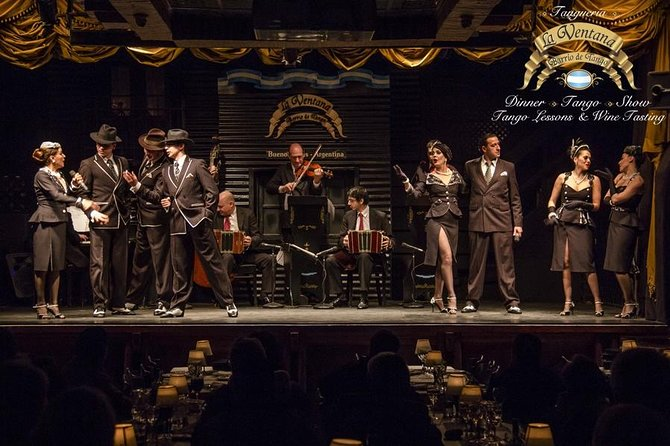 Wine Tasting and Dinner Tango Show in Buenos Aires