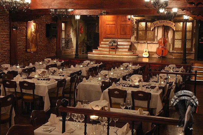 Buenos Aires by Night Private City Tour with Aljibe Dinner Tango Show