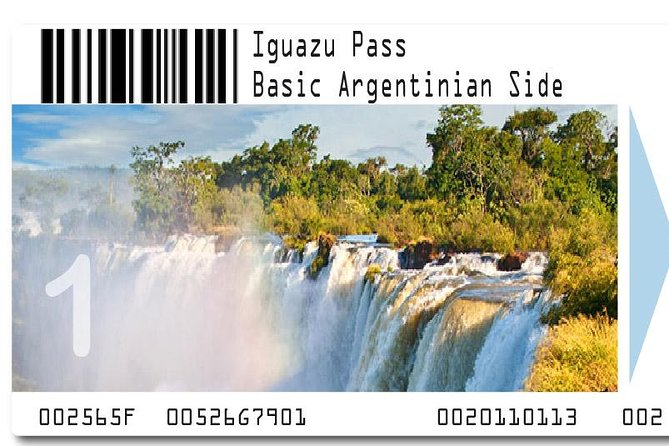 Iguazu Falls Pass: Basic Argentinian Side