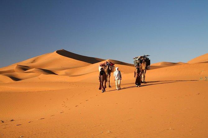Erg Chegaga desert in Two days one night from Zagora