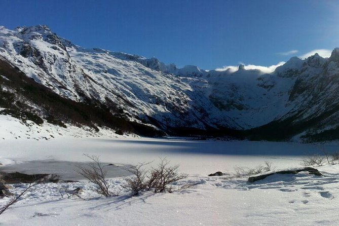 Winter Trekking to Emerald Lagoon from Ushuaia