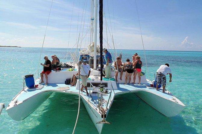 "Private ""FE"" Catamaran Sail and Snorkel Tour in Cozumel"