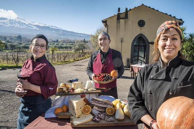 Barefoot on Etna Slope: Sicilian Countryside Private Tour and Picnic at Rural Farmhouse from Catania