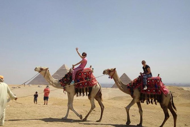 Full day Visit Giza Pyramids with Camel Ride and Lunch