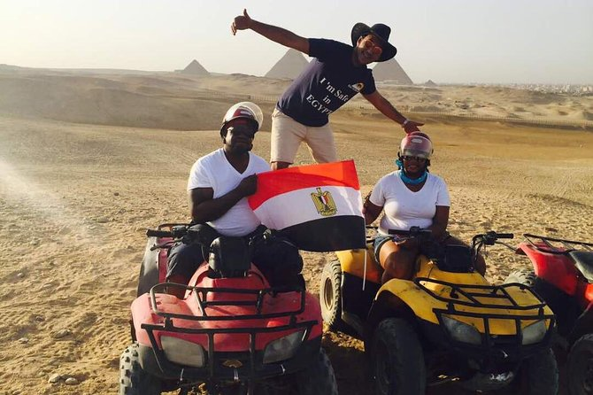 ATV at Giza Pyramids with Lunch