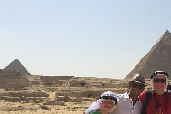 Full Day tour visit Giza pyramids the sphinx Memphis Sakkara Dahshour