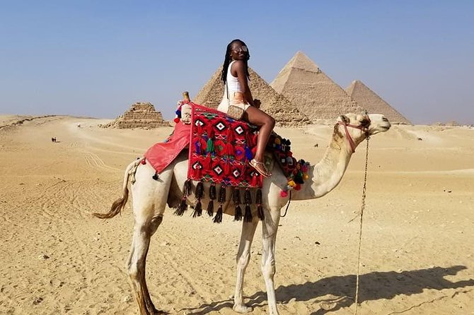 Overday to Cairo from Luxor Visit Giza Pyramids ,Egyption museum and Bazar