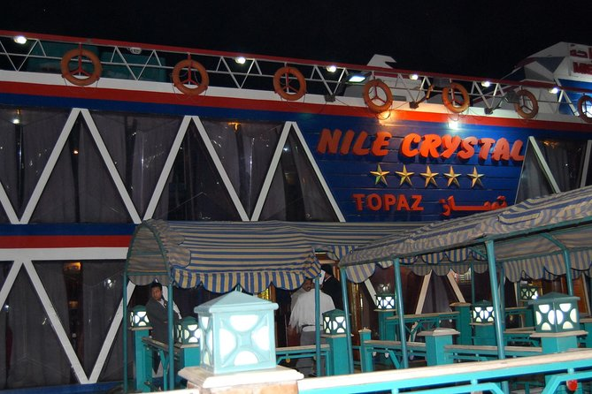 Book online Nile Crystal Dinner Cruise included pick up and drop off