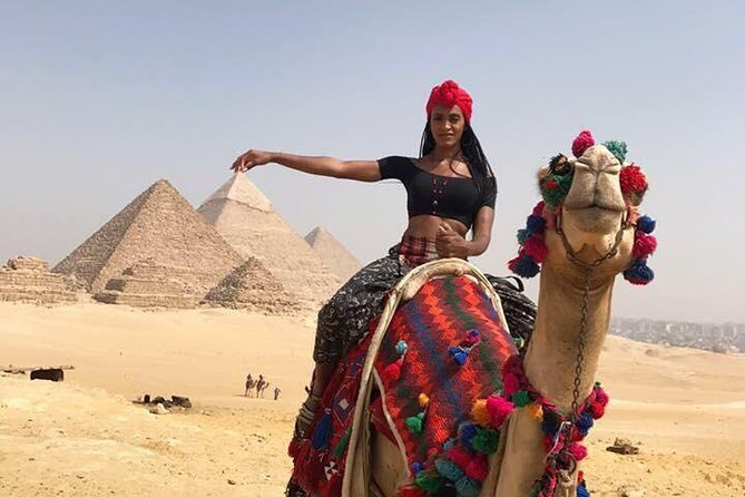 Half-Day Tour to Giza Pyramids and Sphinx with Camel Ride photo 2