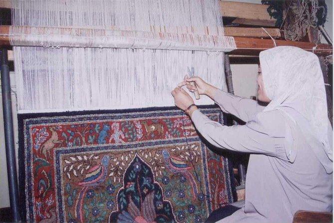 Visit Egyptian Carpets factory