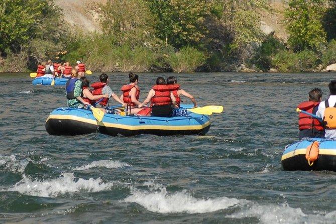 Wenatchee river family float trip