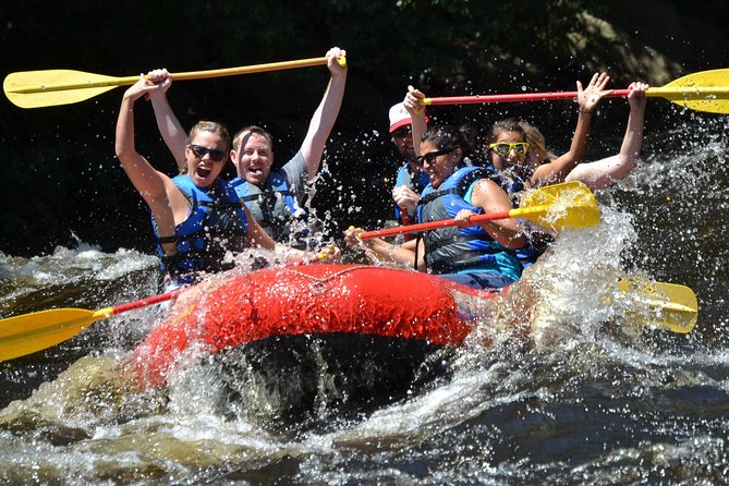 Whitewater rafting on the Lehigh River