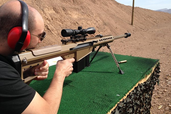 Outdoor Shooting Range Package from Las Vegas with Optional ATV Tour