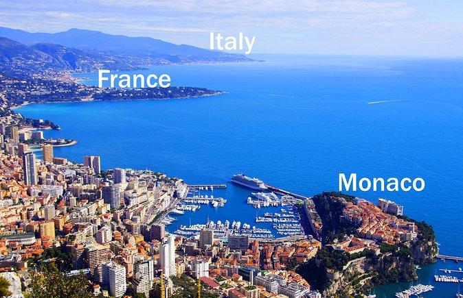 Villefranche Shore Excursion: Private Day Trip to French Riviera, Monaco and Italy Coast