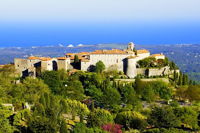Private French Riviera West Coast and Hilltop Towns Full-Day Tour from Nice