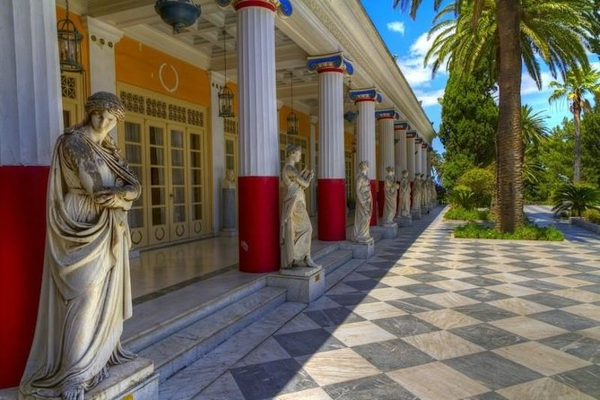 Achillion Paleokastritsa Corfu Private Tour
