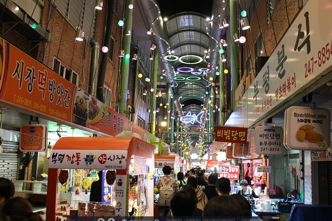 Busan Night Tour Including Night Food Market Visit