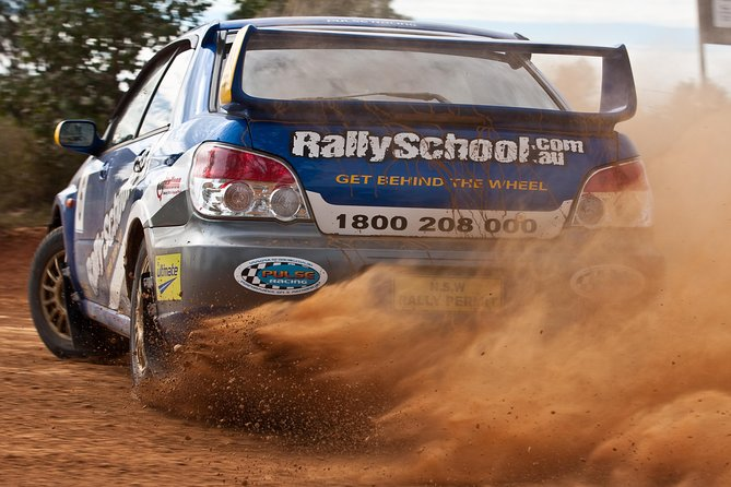 NSW Rally School Hotlap Ride in a Rally Car