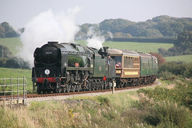 Steam Train and Sea Cruise Adventure Including the Jurassic Coast from Poole