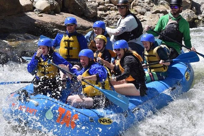 Browns Canyon Intermediate Rafting Trip Half Day