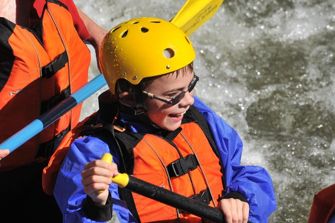 Kids Love Rafting!