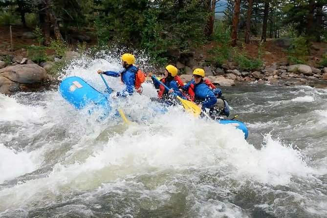 The Numbers Half Day Rafting