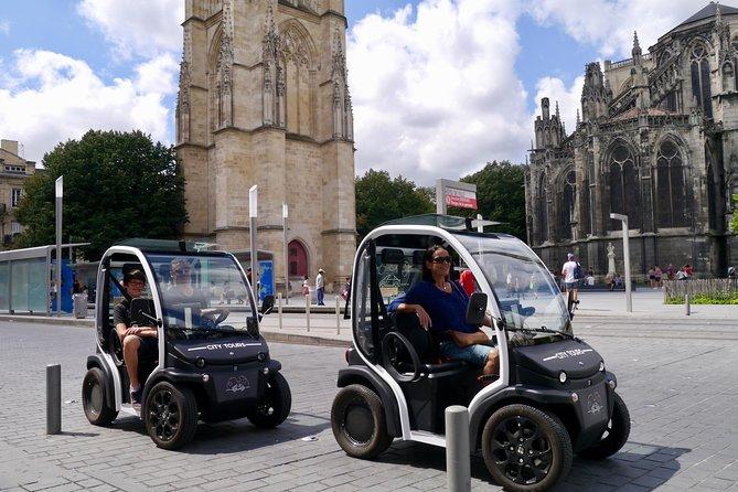 Bordeaux: 1,5-stündige selbstgeführte Besichtigungstour im Elektrofahrzeug