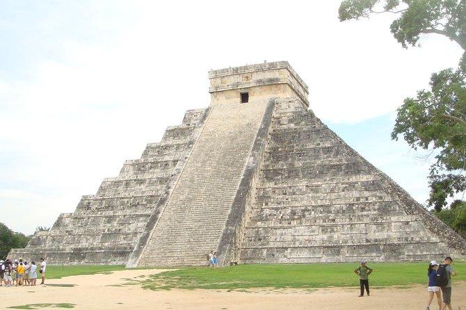 Chichen Itza, Cenote och Valladolid Day Tour från Cancun