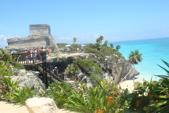 Tulum, Gran Cenote Swim och och Tankah Private Beach från Cancun