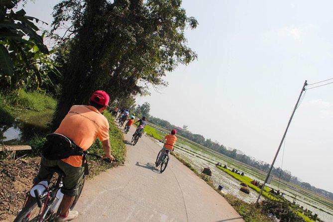 Halvdag Lanna Countryside Cykeltur i Chiang Mai