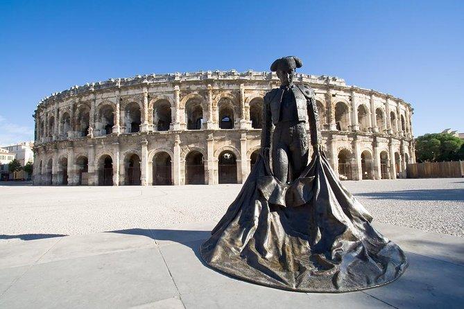 Provence Heritage Tour from Avignon: Les Baux de Provence, Nimes and Uzès