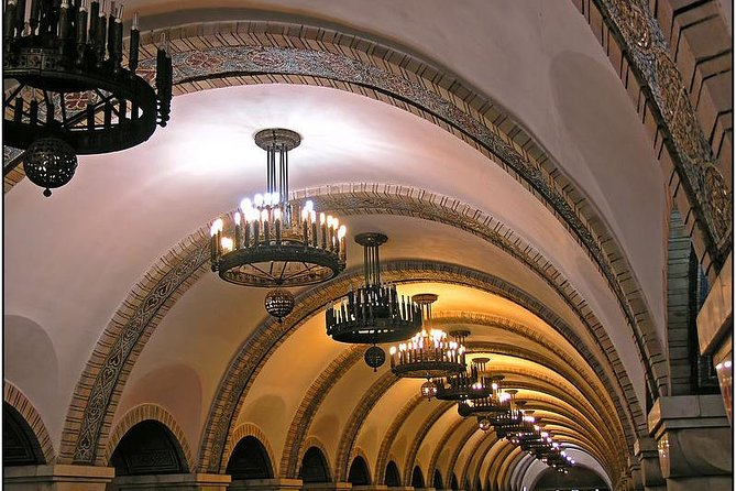 Kyiv Metro Station Tour