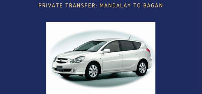 Private Transfer: Mandalay to Bagan   Myanmar (Burma