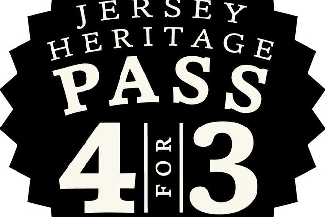 Jersey Heritage Pass: 4 for 3 Attractions
