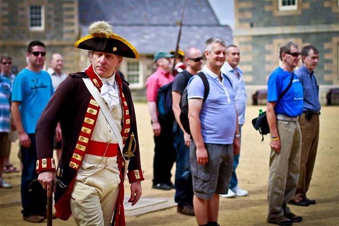 Master Gunner on parade at Elizabeth Castle