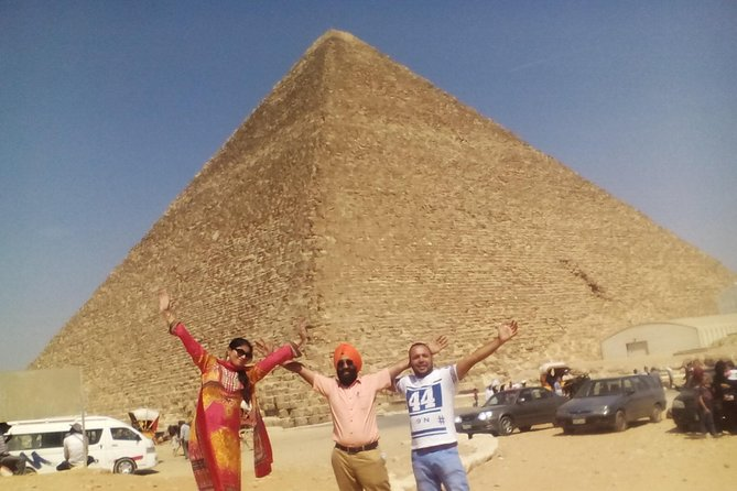 Half-Day Great Pyramids Tour from Cairo or Giza