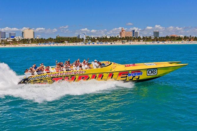 Miami Speedboat Tour with Star Island, South Beach Views