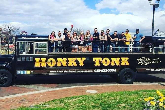 Nashville's Roofless Party Bus