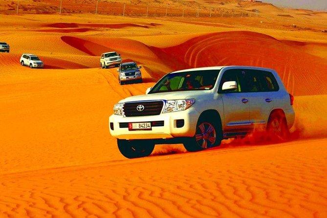 Morning Abu Dhabi Desert Dune Bashing e Camel Ride