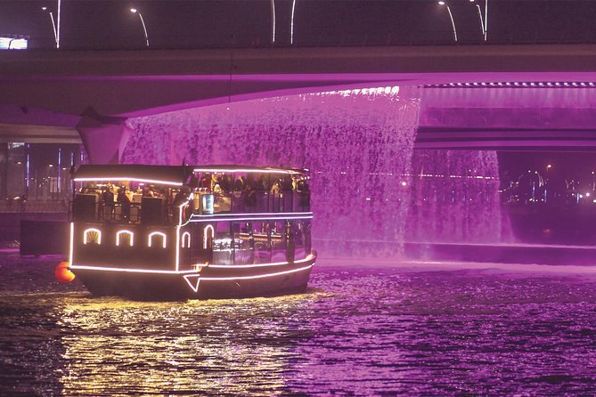 Dubai Canal Dinner Cruise with Transfers