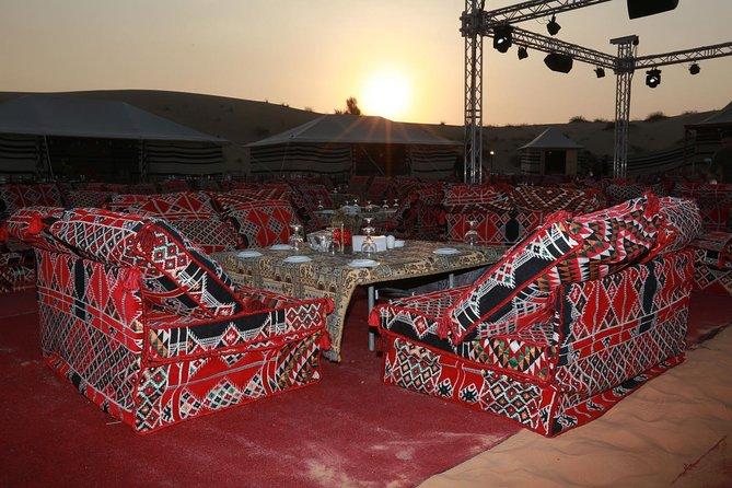 Premium 4x4 Arabian Desert Safari with BBQ Dinner
