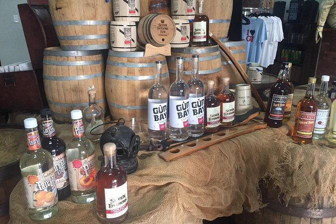 Cayman Spirits Distillery Tour and George Town Shopping