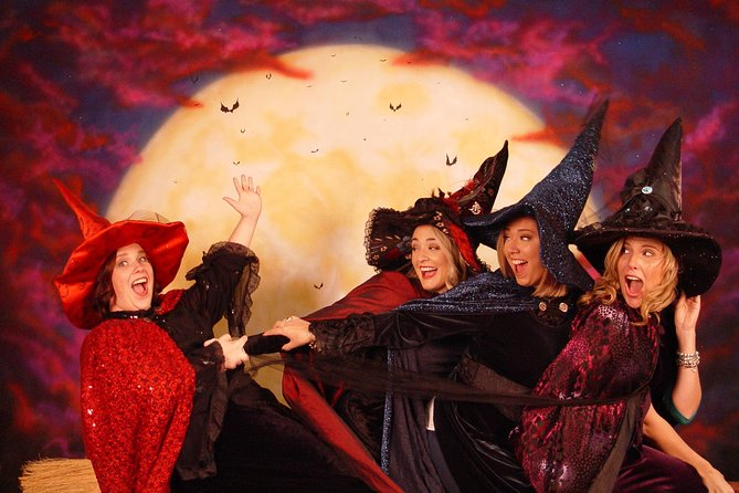 Experiencia de sesiones fotográficas de bruja en Salem