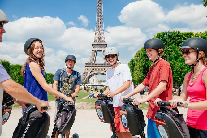 Sightseeing med Segway i Paris