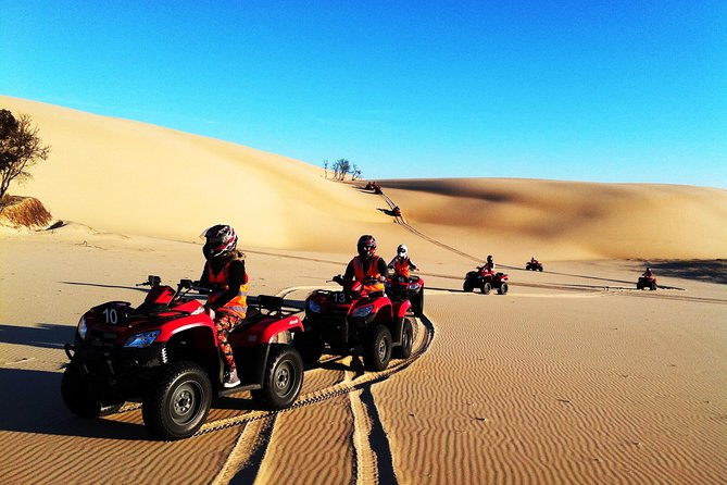 1.5-Hour Aboriginal Culture, Sand Board and Quad Bike Tour