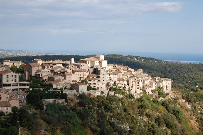 Full Day Tour of French Riviera Perched Villages and Wine Tasting from St Jeannet