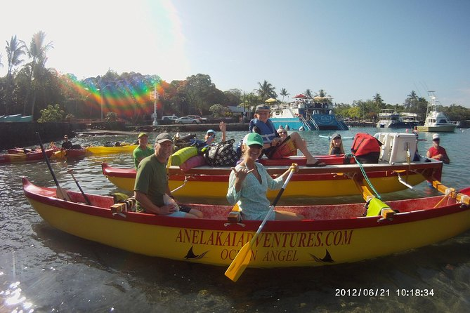 Hawaiian Outrigger Canoe and Snorkel Adventure photo 1