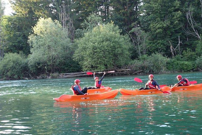 Kayaking in Bled