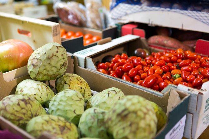 Tour de mercado y comida de Santiago
